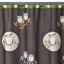 White Owl Bathroom Accessories by Owl Decor Kids Bathroom Accessories Cartoon Fabric Shower Owl