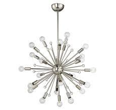 Savoy House Galea 24 Light Chandelier in Polished Nickel