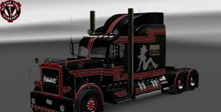 Southern Bitch Custom Skin For Peterbilt 389 V2 Mod - American ... Best Of Custom Trucks Gp 7th And Pattison 379 Custom For American Truck Simulator Simpleplanes Peterbilt 359 1995 Rig Nexttruck Blog Industry News With Flames Gallery J Brandt Enterprises Canadas Source Quality Used Slammed Pinterest 351 Mod Ats Showrooms Tri Axle Dump 18 Wheels A Dozen Roses Semi Wallpapers Wallpaper Cave Pin By Alena Nkov On Ahae A Kamiony