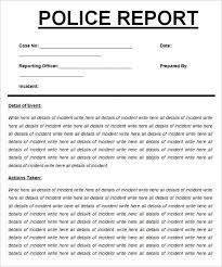 Download Fancy Criminal Profile Template Ensign Example Resume Of Get Police Report Sample Free Printable Documents