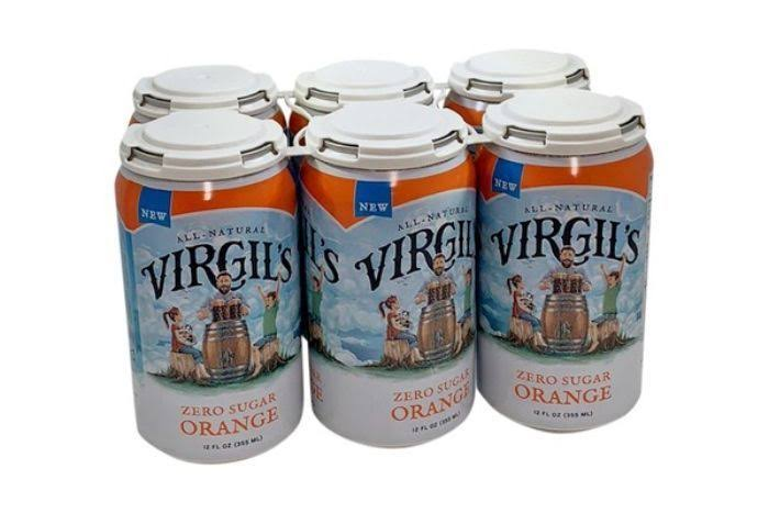 Virgil's New All Natural Zero Sugar Orange Soda - 12oz