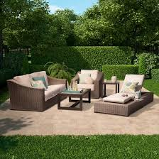premium edgewood patio furniture collection smith hawken target