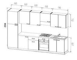 schema cuisine cuisine équipée ultra design 330 cm modiva