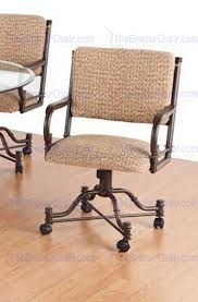 Chromcraft Dining Room Chairs by Dining Room Chairs On Casters 1 Best Dining Room Furniture Sets