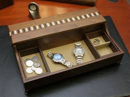 Mens Dresser Valet With Charger by 95 Best Men U0027s Valet Box Images On Pinterest Coins Woodwork And