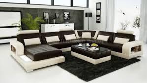 canape panoramique canapé d angle panoramique leana en cuir italien design pas cher