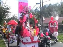 Parade Float Decorations Philippines by Quisao Elementary Mr En Ms Valentines Paul Charlie En