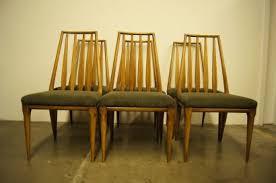 Set Of Six Dining Chairs By John Widdicomb
