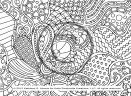 Free Coloring Doodle Pages