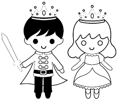 Princess And Prince Coloring Pages 20 Printable