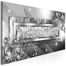 dekoration deko leinwand bilder diamant abstrakt braun