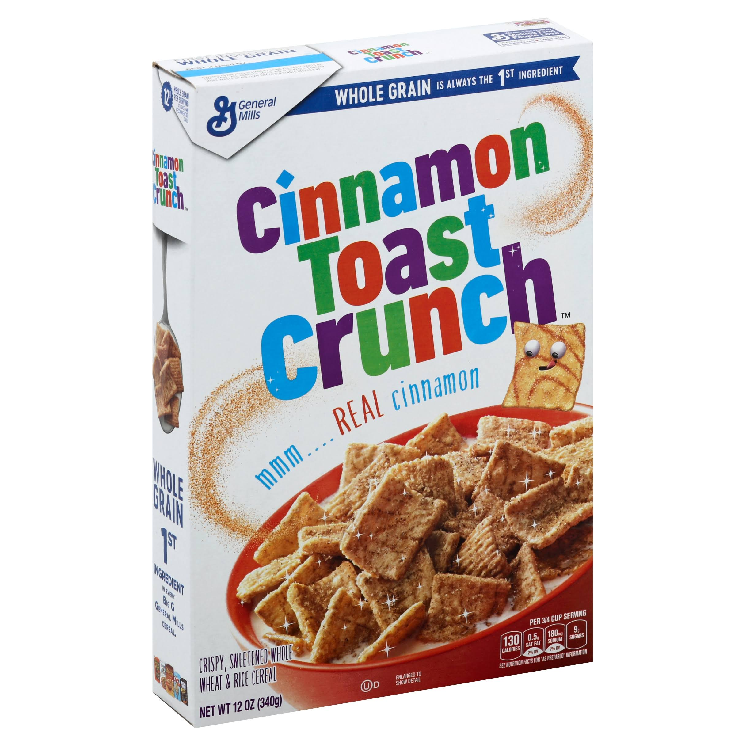 Cinnamon Toast Crunch Breakfast Cereal - 12oz