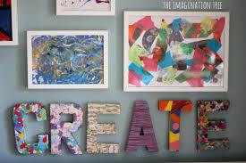 Make Creative Art Space Your Home Classroom