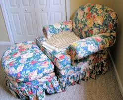 Chair Slip Cover Pattern goodbye house hello home blog armchair and ottoman slipcover