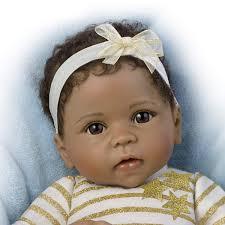 Ashton Drake Cutest Baby Of 2014 Portrait SAVANA Baby Girl Doll By