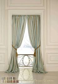 Green Striped Curtain Panels by 20 Best Images About Dining Room On Pinterest Window Treatments