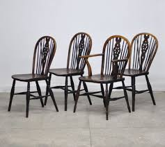 19th Century Windsor Dining Chairs Set Of 4 2