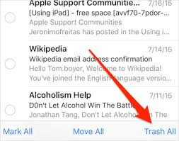 How to Delete All Emails on iPhone 6 6s in iOS 9 9 2 9 2 1