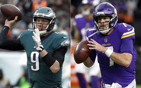 Nick Foles and Case Keenum have strong career connections
