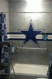 Dallas Cowboys Baby Room Ideas by More Like This Cowboy Bathroom Dallas Cowboys And Dallas