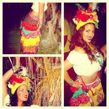 DIY Original Halloween Costume Carmen Miranda By JFricano