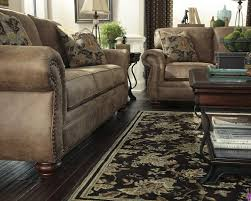 Ashley Furniture Larkinhurst Sofa Sleeper by Earth Finish Larkinhurst Set 319