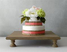 Cake Stand 16 Square Cupcake Dessert Rustic Wooden Vintage Fall Wedding By E Isabella