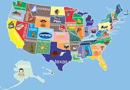 Pin By Babs Smale Feasey On Uk Vs Usa Pinterest United States Best Of Us Map For Kid At