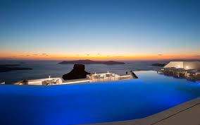100 The Grace Santorini Swim Over A Volcano In S Largest Infinity Pool Travel