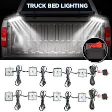 Amazon.com: AUDEW 8Pcs Truck Bed Lights,Super Bright LED Lights With ... Best Truck Bed Lights 2017 Partsam Amazoncom Genuine Ford Fl3z13e754a Led Light Kit Rear Rugged Liner F150 With Cargo Without How To Install Cabin Switch Youtube Fxible Strip Truck Bed Lights F150online Forums 8 White Rock Pods Lighting Xprite 60 2 Strips Rail Awning Truxedo Blight Tonneau System Free Shipping 200914 Ingrated Full F150ledscom Magnetic Under The Lux Systems Led For Of Decor Kit Chevyoffroading