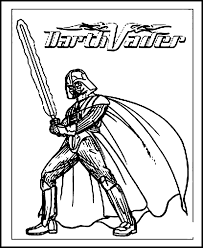 Printable Coloring Pages Star Wars