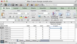 Ceiling Function Excel 2007 by Ms Excel How To Use The Max Function Ws