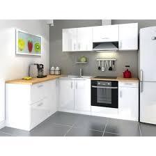 cuisine conforama pas cher meuble cuisine gris laque pas cher