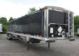 2008 Timpte Double Hopper Grain Trailer | Item DB7064 | SOLD...