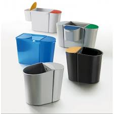 poubelle de bureau tribu avec tri sélectif mobilier de bureau
