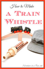 make a train whistle