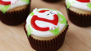 Nerdy Nummies Halloween Special by Today I Made Ghostbusters Ectoplasm Filled Cupcakes With My Friend