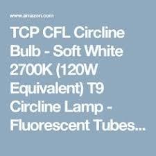 30 watt 9 diameter warm white t9 circline bulb energy used 30