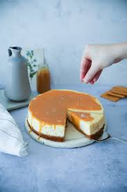 new york cheesecake mit salted caramel