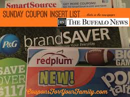 Sunday Coupon Inserts In Buffalo NewsPaper June 28: Tops $5 ...