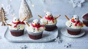 Melting Snowman Cupcakes Recipe
