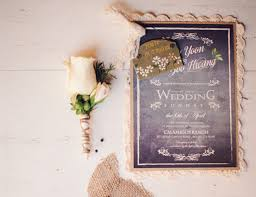Vintage Style Chalkboard And Lace Wedding Invitations