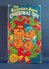 The Berenstain Bears Christmas Tree Dvd by The Berenstain Bears Comic Valentine Vhs Ebay