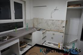 die einbauküche montieren aufbauen kuechenhacks de
