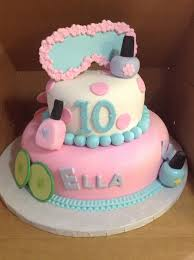 Birthday Cakes Images Spa Cake For Girls Themed Throughout The Incredible Ideas