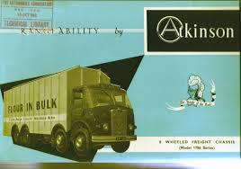100 Atkinson Trucks Photo 8 Wheeler Front Page 8
