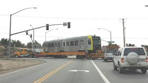 Another Kinkisharyo light rail vehicle begins testing on the Green