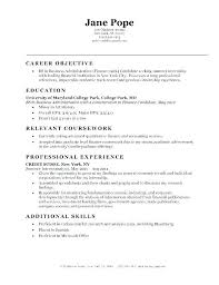 Sample Resume For Entry Level Job Bank Elegant Jobs Objective With No Experience