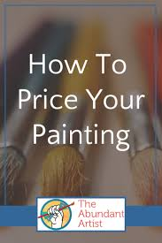 Help How Do I Price My Paintings