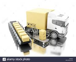 3d Illustration. Truck With Carboard Boxes With Conveyer Belt And ... Belt And Pulley Systems Automotive Market Hutchinson Drive Leather Truckmans Axe Fd Leatherworks Cement Truck Belt Buckle Blue 18th Wheeler Rig Truck Trucker Buckle Buckles Marruffos Custom Belts Noenname_null 1pc Winter Car Snow Chain Black Tire Antiskid Lincoln Welding Award Design Solid Brass 2018 Electric Longboard Skateboard Cversion Kit Rear With Linkbelt Cstruction Equip Atc3275 Allterrain Crane In Coinental Pulleys Brackets For Land Rover Fashion Wommengirlboy Metal Lorry Farmer